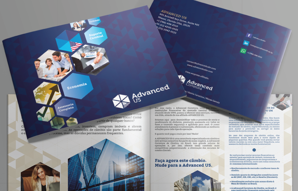 Brochure Design and Printing - Advanced US