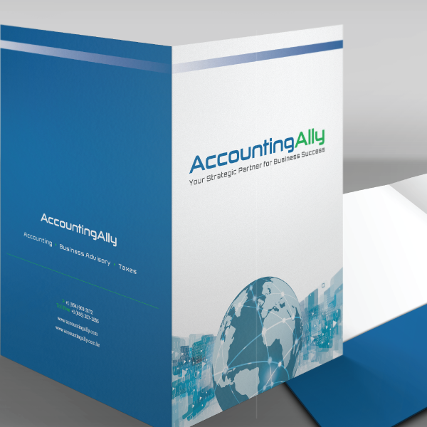 Presentation Folder Accounting Ally - Design